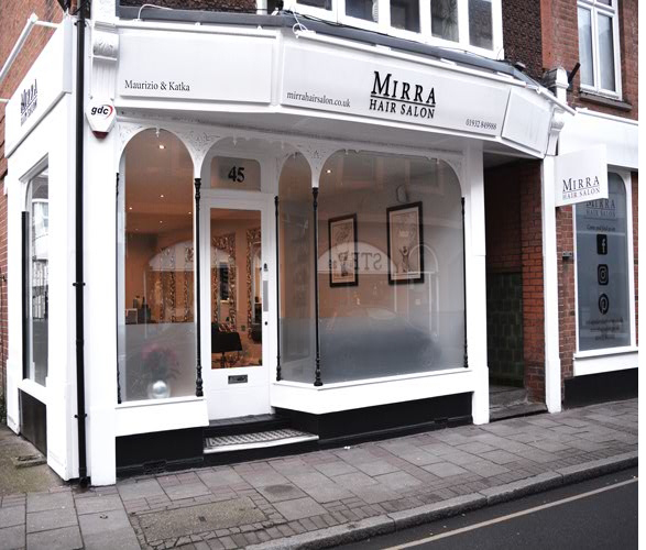 Mirra Hair Salon Second Interior In Weybridge 45 Baker Street KT13 8AE